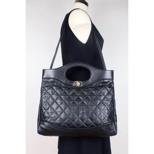 2018 Chanel Lambskin Chanel 31 Medium Shopping Bag
